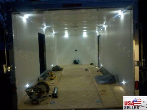 LED Boat Lighting Kit 8-Piece Waterproof Flexible Bright Strips Interior Pod Kit