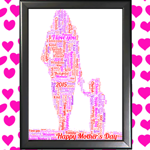 MOTHER-amp-SON-WORD-ART-CLOUD-KEEPSAKE-FROM-CHILD-TO-MUM-ON-MOTHERS-DAY