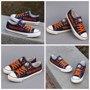 88fa371978d3 DENVER BRONCOS Women s Men s Shoes NFL Sneakers Football LIMITED ...