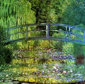 High Quality Image Is Loading THE WATER LILY POND HARMONY IN GREEN 1899