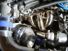 CXRacing GT35 Turbo Kit For Lexus SC300 2JZGE 2JZ-GE Manifold Downpipe Wastegate