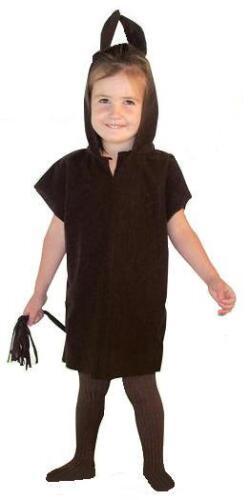 BROWN DONKEY HORSE TABARD CHILDRENS FANCY DRESS COSTUME NATIVITY SCHOOL PLAY
