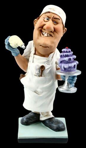 Warren Stratford Lustiger Beruf Bäcker Konditor mit Torte Funny Job Figur