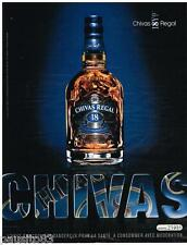PUBLICITE ADVERTISING 095  2007  CHIVAS  whisky  18 ans age