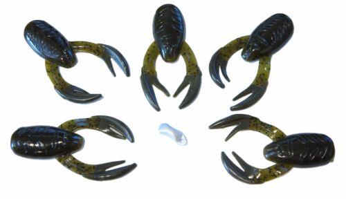 6//PK Hart Tackle Rat-L-Chunk Floating Soft Bait USA Choose Color 6 Packages