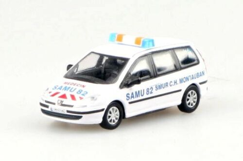 Peugeot 807 SAMU de Montauban 1//72 Cararama