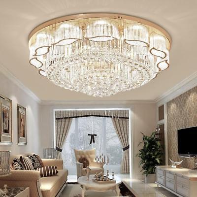 K9 Crystal LED Chandelier Luxury Ceiling Light Home Pendant Lighting Fixtures