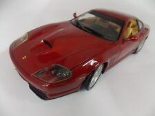 Ferrari Modell / 550 Maranello / dunkel ROT / 1:18 / von Hotwheels