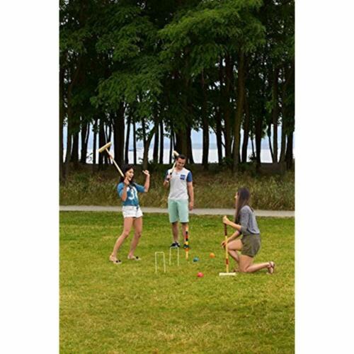 Baden Deluxe Series Croquet Set For Adults Sports /& Outdoors Games Activities