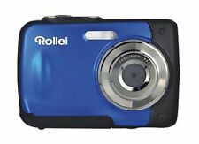 Rollei Sportsline 60 Digital Fotokamera Kamer in Blau 5MP 8x digitaler Zoom