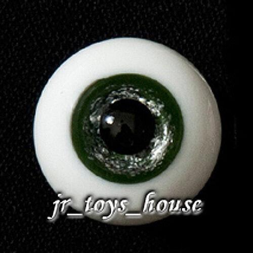 Extra High Grade /& Quality Glass Eye 18mm Shiny Green HG SD 1//3 BJD