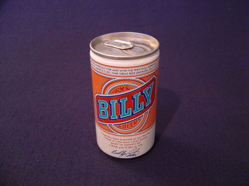 BILLY BEER CAN  STAY TAB TOP VINTAGE /'77 FALLS CITY BREWING CO LOU KY STEEL  CAN