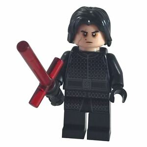 LEGO Star Wars Minifigure Kylo Ren without Cape from set 75196 75216