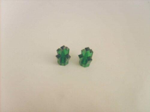 Lot pièces recherchées//accessoires LEGO TBE 2 CRISTAUX VERTS