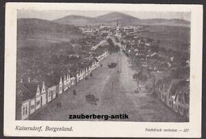 Kaisersdorf Császárfalu Kalištrof Ortsansicht Bezirk Oberpullendorf