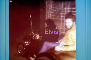 ELVIS-PRESLEY-3-WHEEL-CYCLE-DR-NICK-SON-GRACELAND-ORIGINAL-VINTAGE-PHOTO-CANDID