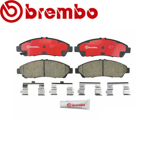 For Acura MDX ZDX Disc Ceramic Slotted Brake Pad Set Front 3.5L Brembo P28060N
