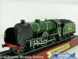 Schools Class 220 Model Steam Train Southern Eton 1:100 Approx Loco Stat Display Lustre Brillant