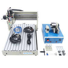 Usb 4axis 3040t Cnc Router 3d Engraver Engraving Drilling Milling Machine 400w G