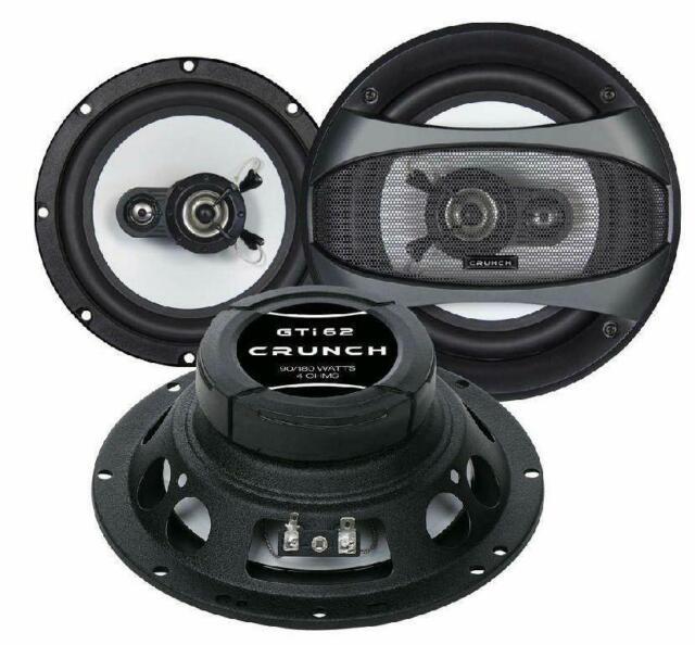 Crunch Gti 62 Speaker 16,5cm Fiat Punto 1/2 176/188 93-07 Doors Front New