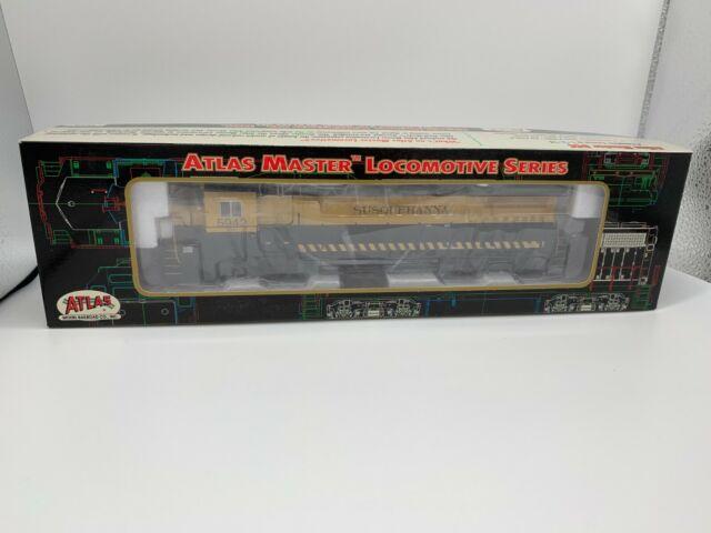 HO Atlas Master 9038 -  DCC Dash 8-40B CSX/Susquehanna NYS&W #5942 - NIB