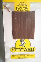 Veniard Antron Body Yarn Aby-03 Dark Brown