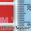 miniature 7 - 3M DOUBLE SIDED STICKY PADS ROLL ROUND SQUARE TAPE STRONG HIGH BOND ADHESIVE UK!