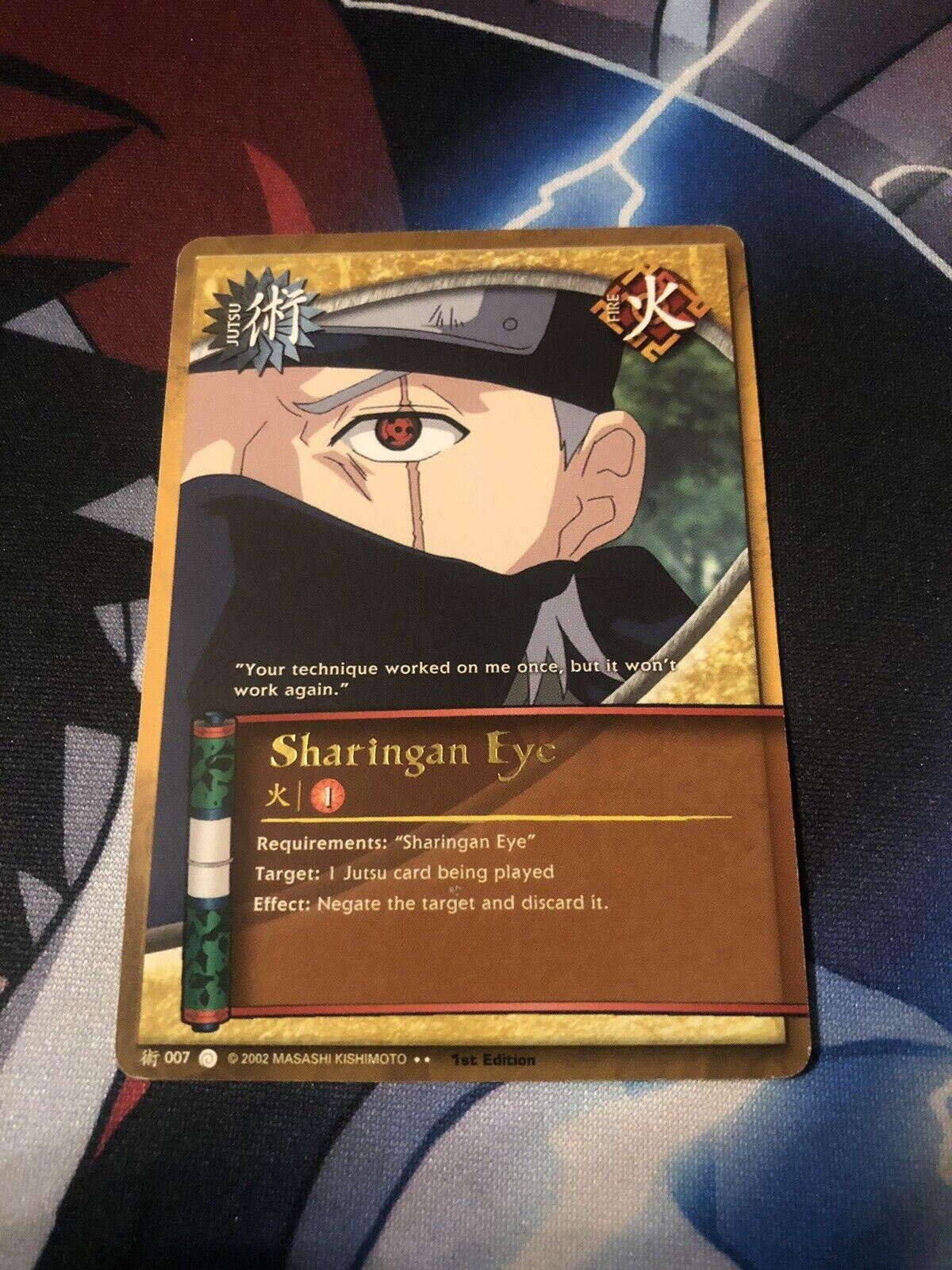 Naruto Cards TCG CCG Hiashi Hyuga 518 RARE COMBINED SHIPPING