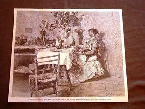 Un-brindisi-Acquerello-di-Montefusco-del-1880