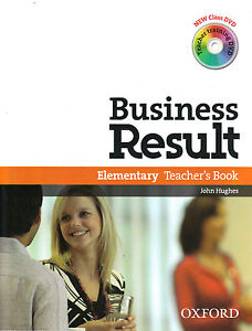 Oxford-BUSINESS-RESULT-Elementary-Teacher-039-s-Book-with-2-DVD-039-s-NEW