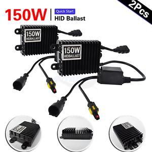 2x-150W-Car-HID-Xenon-Ballast-Kit-H1-H3-H4-H7-H8-H10-H11-9005-9006-H4-Bi-xenon