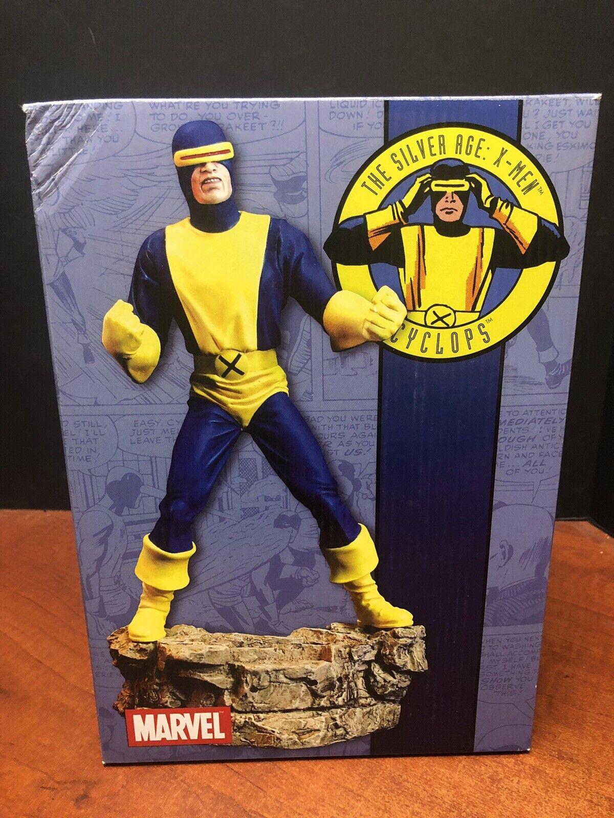 Diamond Select la edad de Plata Marvel X-Men Cíclope estatua Tamp 0348