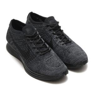 Image is loading Nike-Flyknit-Racer-Unisex-Running-Shoes-Sneakers-Black- 76384ea41