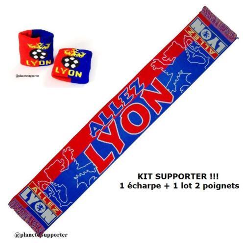 BRACELET LYON no drapeau maillot scarf schal sjaal sciarpa bufanda ... ECHARPE