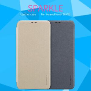 Huawei-Honor-9i-CN-Nillkin-Sparkle-Cuir-Serie-anti-derapant-Flip-Case-Cover