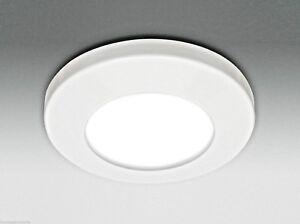 Faretto led incasso con lampada w gu bagno ip ebay