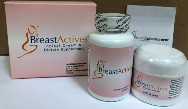 Breast Actives 3 Combo All Natural Breast Enhancement Kit For Sale