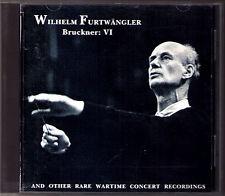 Wilhelm FURTWÄNGLER: BRUCKNER Symphony 6 BRAHMS Haydn Variations FURTWANGLER CD