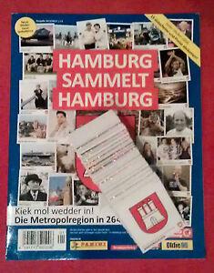 Panini-Hamburg-sammelt-Hamburg-2-komplett-alle-264-Sticker-Album-RAR