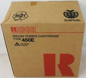 100% Vrai Ricoh 884240 Type 450e Toner Originale 889490/k73 Ft4022/ft4027/4522/4527 X 2pz