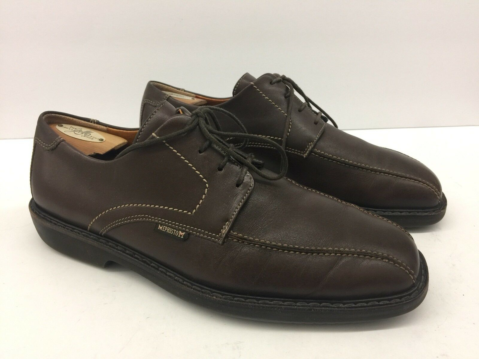 440 MEPHISTO GoodYear Air-Relax Brown Shock Absorber shoes Mens Sz 9.5 us