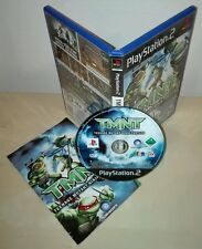 TMNT ninja turtles Sony PlayStation 2 ps2 gioco game stampa stampa ubisoft
