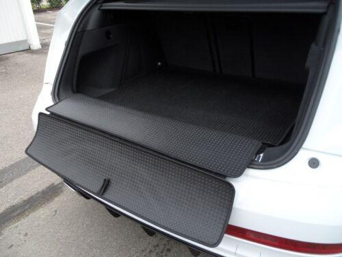 Mazda 5 ab 10.2010 Passform Laderaummatte ausklappbar TPO graphit