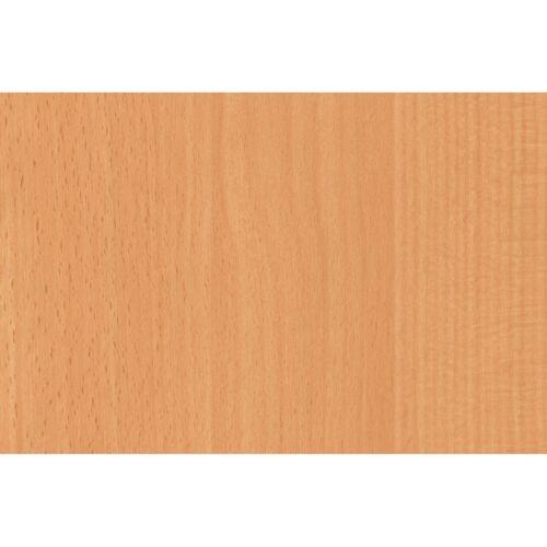 2.1m X 90cm BEECH WOODGRAIN WOOD STICKY BACK PLASTIC SELF ADHESIVE VINYL FILM