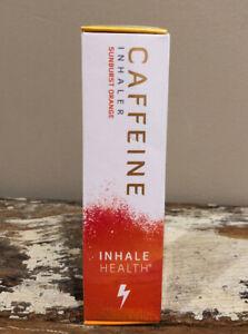INHALE HEALTH Caffeine Inhaler Orange 400 Breaths INSTANT ...