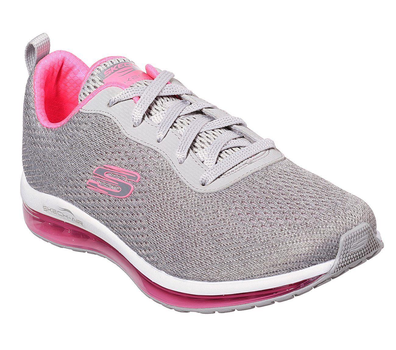 Skechers Skech-Aire Elemento-Cine Para Mujer 12644 GYHP gris zapatos de Color Color de de rosadodo caliente 30280b