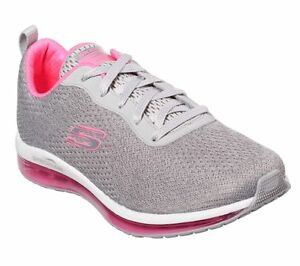 Details about Skechers SKECH AIR ELEMENT CINEMA Womens 12644GYHP GreyHot Pink Shoes