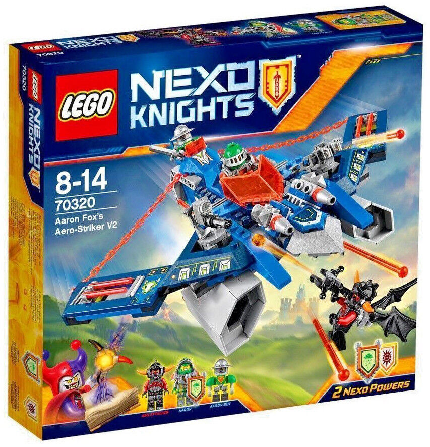 LEGO 70320  - Nexo Knights Aaron Fox's Aero-Striker V2 Construction Set