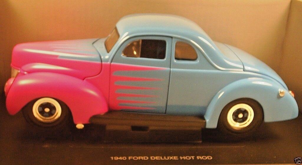 aquila corsa 1940 ford ford ford deluxe hot rod modellini di blu c736f2