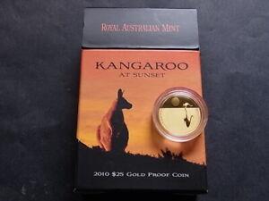 AUSTRALIA-2010-25-Dollars-Kangaroo-at-Sunset-1-5oz-Gold-Proof-000041